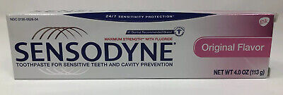 NEW Sensodyne Original Flavor Toothpaste USA Exp 8/2020 Discontinued HTF