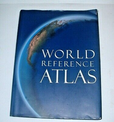 """""""WORLD REFERENCE ATLAS"""" 2004 American Edition by Dorling Kindersley Publishing"""