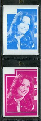 1977 Topps Charlies Angels Color Separation Proof Cards. #226