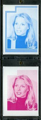 1977 Topps Charlies Angels Color Separation Proof Cards. #215