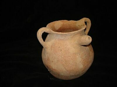 ANCIENT EARLY BRONZE AGE PITCHER-JUG FOUND @ JERICHO ISRAEL! 3000BC~~~no reserve