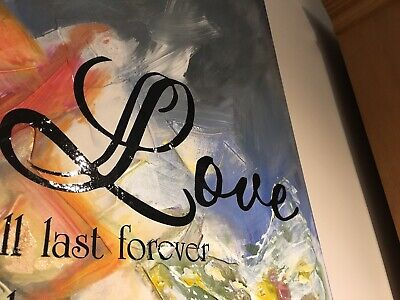 """""""Love Is The Greatest"""" Original Abstract Painting Wall Art Orozco"""