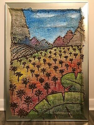 """""""Coffee In Color"""" Framed Original Painting Wall Art by Keri Orozco"""