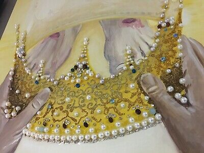 """""""A Crown To Cast"""" Original Painting Wall Art by Keri Orozco"""