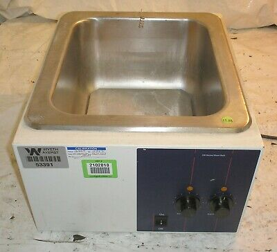 Precision Model 180 Stainless Steel Hot Water Bath NO LID