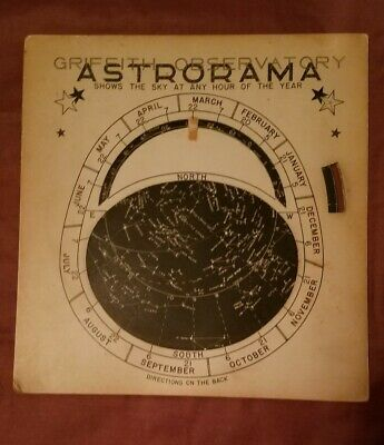 Vintage, Griffith Observatory Astrorama, stars ,1958,astronomy