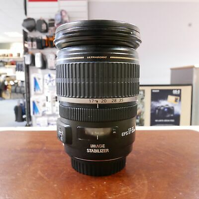 Used Canon EF-S 17-55mm f2.8 IS USM lens - 1 YEAR GTEE