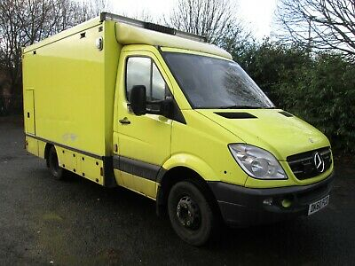2011 Mercedes Sprinter 516 Cdi Auto Ambulance Kitted Out Camper Conversion Px