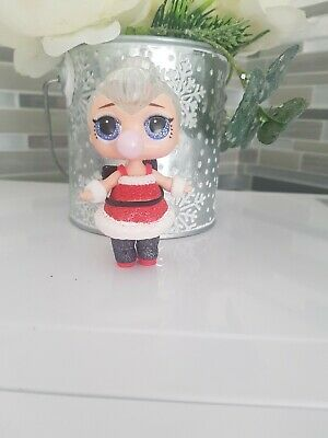 Lol Surprise Glitter Ultra Rare! Sleigh Babe Winter Disco Gold Ball Doll