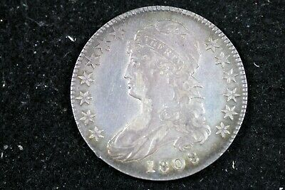 ESTATE FIND 1808 - Capped Bust Half Dollar!!  #H19783
