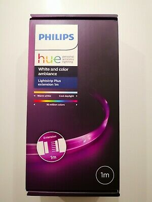 Philips Hue Lightstrip Extension [1 m] White and Colour Ambiance Smart LED Kit
