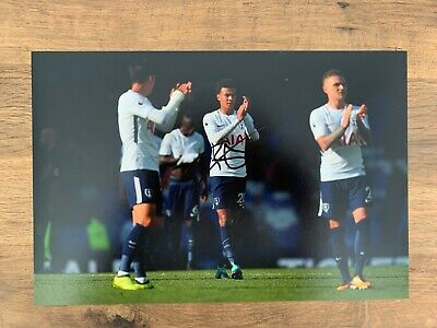 DELE ALLI - Hand Signed 12x8 Photo - Tottenham Hotspur Spurs England - Football