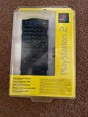 Official Sony Playstation 2 PS2 DVD Remote Control Brand New Sealed SCPH-0420 E