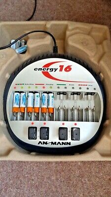 Rechargeable Batteries charger Ansmann Energy 16 + 10 rechargeable batteries