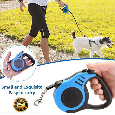 Automatic Retractable Dog Leash Small Medium Puppy Pet Walking Running Lead Rope