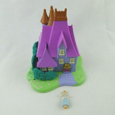 Vintage Polly Pocket Cinderella Stepmother's House 1995 Bluebird Plus 1 Figure