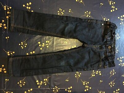 Boys Jeans Autograph Age 2-3 Years Dark Blue  Marks And Spencers