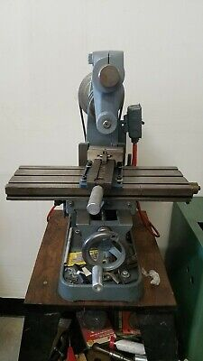 Benchmaster Horizontal Mill Model MH3 Milling Machine Table  Made in USA