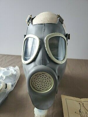 REAL Polish Bulldog Military Gas mask MP4 Army Filter respiratory  1985 surplus