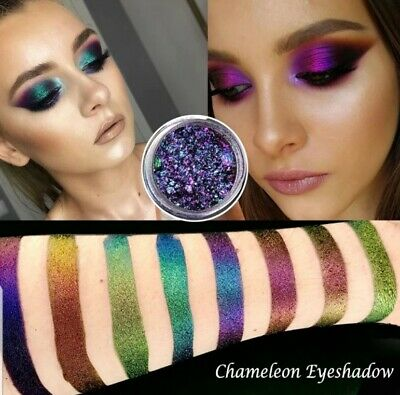 Duochrome eyeshadow Pigment chameleon assorted colours