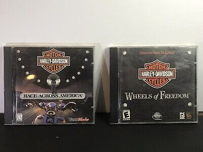 Harley-Davidson PC Games Circa 1999&2000