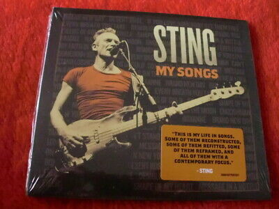 STING ~ MY SONGS (2019 CD) 15 CLASSIC RE-WORKED TRACKS *NEW/SEALED* 99p!!!!!