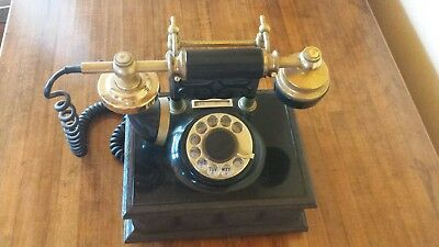 Rare! Vintage Western Electric French Victorian Telephone Antique Embossed