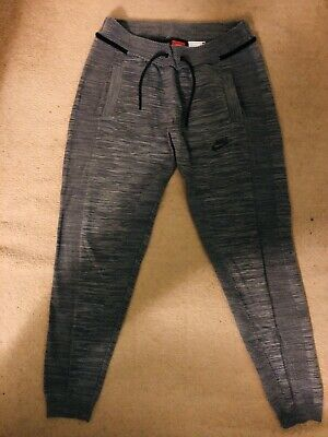 ladies Womens Grey Nike Tech Fleece Tights Jogging Pants Leggings XS