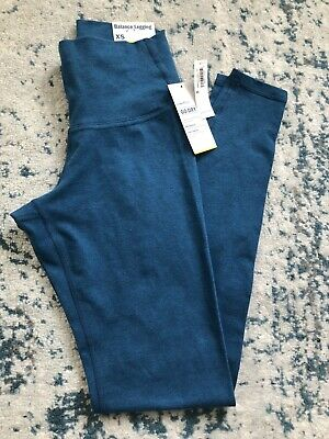 OLD NAVY ACTIVE Go-Dry Fitted Womens Sz XS Blue Full Length Leggings