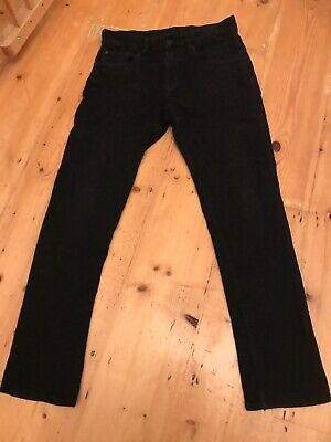 H & M Boys Black Skinny Fit Jeans, Age 12-13 Years