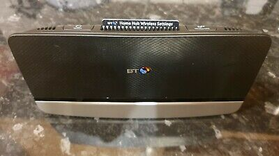 BT Home Hub 4 300 Mbps Gigabit Wireless N Router - no cables