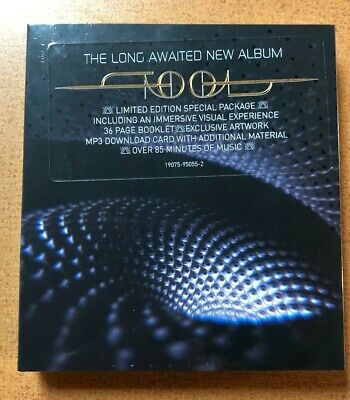 TOOL - FEAR INOCULUM - SEALED NEW Limited Edition CD