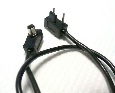 FLASH LEAD - 2 Pin + a 'Bar' to standard PC (3mm) Male. (Direct from F. Gun?)