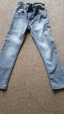 Fab  Boys Next Grey Stonewashed Denim , Super Skinny Jeans,age 3 years