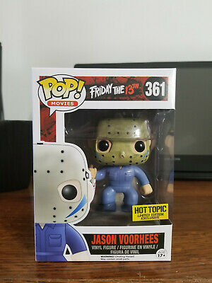 Funko Pop Movies Jason Vorhees 361 Hot Topic Exclusive Friday The 13th