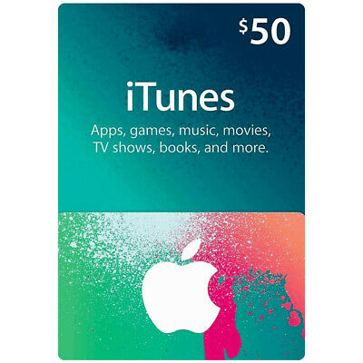 Apple App Store & iTunes $50 Gift Card | 50 USD Gift Card