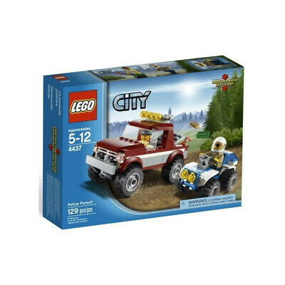 Lego City 4437 Police Pursuit 129pcs New Sealed 2012