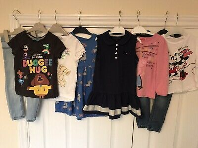 20 items - Girls Clothes Bundle Age 2-3 Years Tops, Jeans, Dresses, Peppa, NEXT