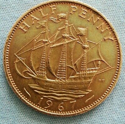 *Rare* Half penny 2P COIN DISPATCHED SAME DAY FREE DELIVERY.