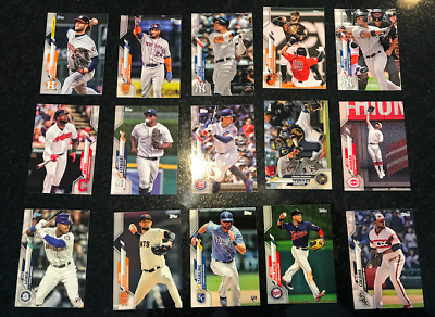 2020 Topps Series 1 Baseball Pick Complete Your Set #1-350 RC Star FREE SHIPPING