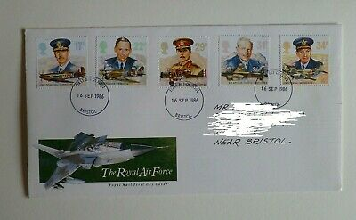1986 The Royal Air Force Royal Mail First Day Cover