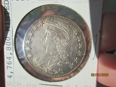 1826 Capped Bust Half Dollar. High Grade  You Grade