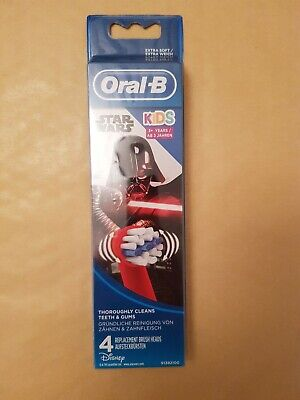 oral b toothbrush heads Star Wars kids