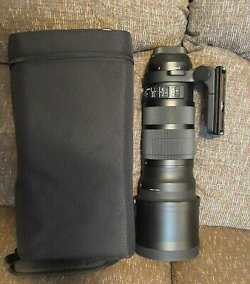 Sigma 120-300mm F2.8 DG OS HSM  FOR CANON. Gently used, glass is pristine.