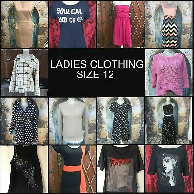 BIG bundle of ladies size 12 clothing create your own COMBINED POSTAGE