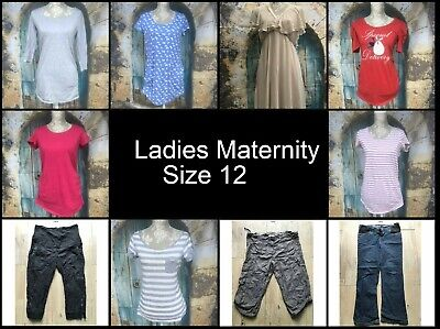 BIG bundle ladies size 12 Maternity clothing make your own COMBINED POSTAGE