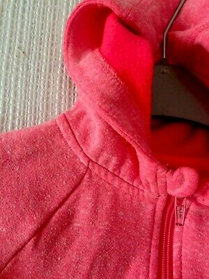 water Melon Pink Girls  Age 3-4 Years Jumper Hoodie Top Tu