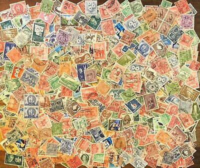 Australia Pre-decimal Collection of 500+ Stamps. Roos, KGV etc (3135)