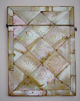 Mother of Pearl Card Case, 19th Century French