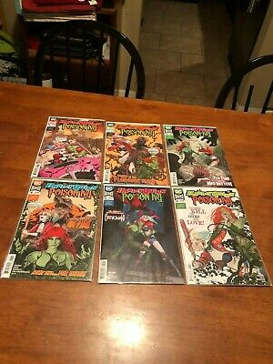 Harley Quinn and Poison Ivy #1-6 Complete Series Lot NM/MT